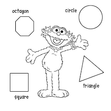 Small Picture Shapes coloring page
