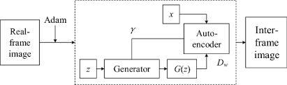 inter frame video image generation
