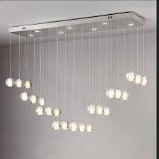 modern stairwell lighting. aliexpresscom buy 18 lights modern led crystal chandelier light fixture bubble ball loft stairwell meteor shower cristal lamp from reliable lighting