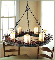 candle chandelier non electric chandeliers real candle chandelier non electric