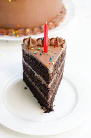 Chocolate Birthday Cake Devils Food Cake With Rich Chocolate