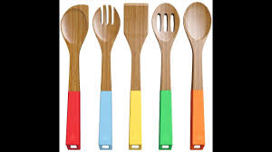 review vremi 5 piece bamboo spoons cooking utensils