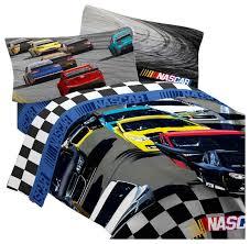 nascar bedding set p drafting racing comforter sheet set
