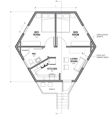 Hexagon House Design Plans Architects For Society Designs Low Cost Hexagonal Shelters