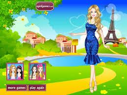 barbie dress up barbie in paris dress up