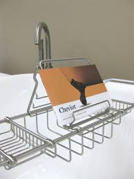 deluxe solid br bathtub caddy cheviot s