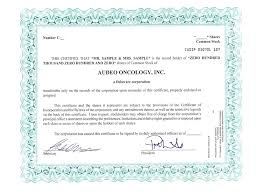 Template For Stock Certificate Stock Certificate Template Specimen Common Of The Registrant