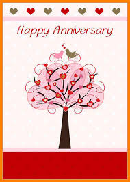 Template Anniversary Card 7 Happy Anniversary Card Template Plastic Mouldings