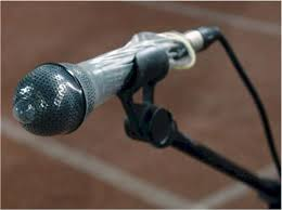 Image result for show me a picture of a microphone