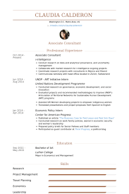 Associate Consultant Resume Samples Visualcv Resume Samples Database