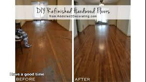 removing varnish from hardwood floors without sanding