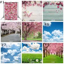 Cherry Blossom Backdrop Forest Trees Backdrops Cherry Blossom Tree Wallpaper Decor Spring Grass Flower Photography Backdrop Photo Props Studio Background 85 125cm Hd Hd