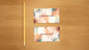 25 Free Business Card Mockups For Pitching Your Work Inspirationfeed