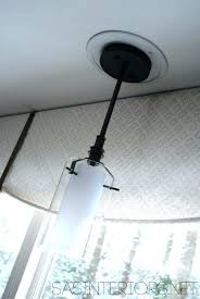 change can light to pendant how to change recessed light to pendant and how to change change can light to pendant