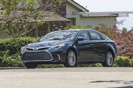 That's so gay: 2016 Toyota Avalon Hybrid is your really big car ...