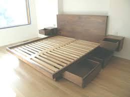 homemade platform bed size platform bed plans with storage one thousand designs in platform bed diy homemade platform bed king