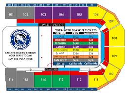 2019 20 Season Tickets Wenatchee Wild