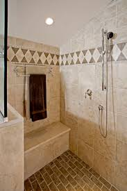 traditional shower designs. The Shower In This Traditional Design Hatboro, PA Is Fit For Two With A Secondary Handheld, Next To Bench And Towel Rack. Designs