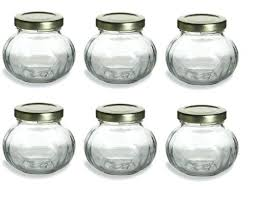 Quilted Crystal Jelly 4 Oz Mason Jars Small Mason Jars With Lids ... & 4oz Round Mini Jam Jars Tiny Mason Jars With Lids Bulk Small Plastic  Containers With Lids Adamdwight.com
