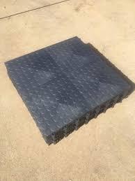 11 new 48 sqft bo racedeck snaplock garage flooring graphite tiles 528 sqft