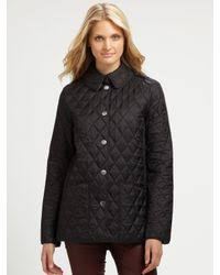 Burberry brit Pirmont Quilted Jacket in Black | Lyst & Burberry Brit. Women's Black Pirmont Quilted Jacket Adamdwight.com