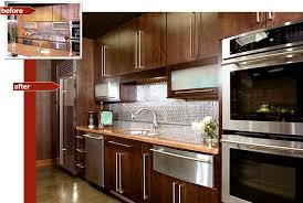 reface kitchen cabinets before after cabinet refacing before and