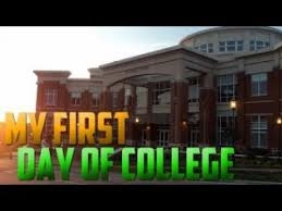my first day at college essay my first day at college