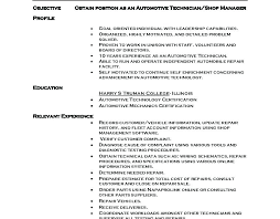 Resum Samples Automotive Mechanic Resume Samples Auto Mechanic ...