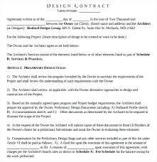 Design Proposal Sample Design Proposal Agreement Template Landscape Design Proposal