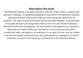 american phsycological association download pdf publication manual of the american psychological assoc