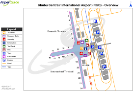 Chubu Centrair International Airport Rjgg Ngo Airport