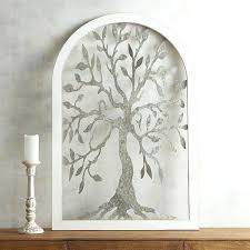 pier 1 imports galvanized tree arch wall decor a liked on featuring art metal flower