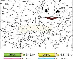 Math Coloring Pages Free First Grade Math Coloring Worksheets Free