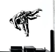 martial arts wall decals buy fashion sports wall decal martial arts bedroom wall  stickers decor infinity . martial arts wall decals ...