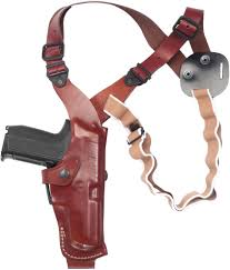 gallery leather vertical shoulder holster