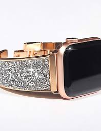 <b>Luxury Diamond</b> Strap For Apple Watch Series 5/4/3/2/1 Bracelet ...