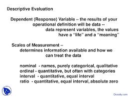 Design Research Meaning Descriptive Evaluation Research Design And Quantitative