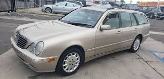 Greg cavanaugh, amateur automotive writer for the gallup journey magazine, evaluates the features of his own 2001 mercedes benz e320 wagon (w210). 2001 Mercedes Benz E320 Wagon Runs Really Good Call Me 2900 For Sale In Hawthorne Ca Classiccarsbay Com