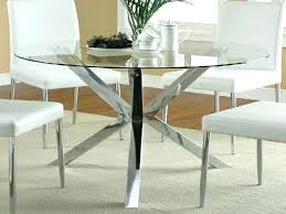 dining tables glass top round glass dining table with base top metal furniture round glass dining