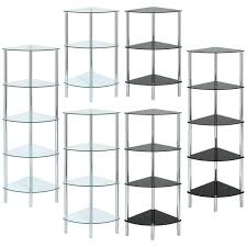 glass corner shelf unit curved 20glass 20 jpg