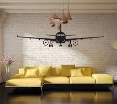 3d airplane wall art