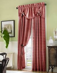 Plaid Curtains For Living Room Brown Elegant Luxury Plaid Curtains For Living Room