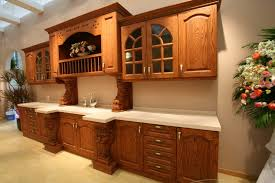 how to refinish oak kitchen cabinets