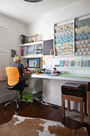 storage with office space. Office With Craft Storage On The Wall Space