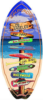 home decor original mini surfboard skimboard cya collectables gifts decoration beach sign