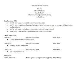 Free Job Resume Maker Free Resume Templates