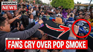 Giving the late rapper one final, emotional sendoff. Leaked Footage Pop Smoke Funeral Will Shock You Youtube
