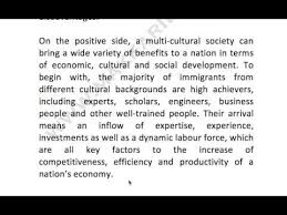 multiculturalism essay 168 advantages and disadvantages of a multicultural society youtube