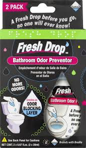 Fresh Drop Bathroom Odor Preventor  PK  FL OZ Walmartcom - Best bathroom odor eliminator