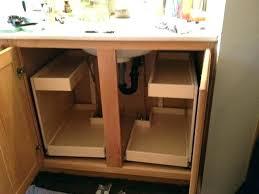 kitchen sink cabinet organizer under sink organizer storage cabinets under counter storage bins pull out cabinet